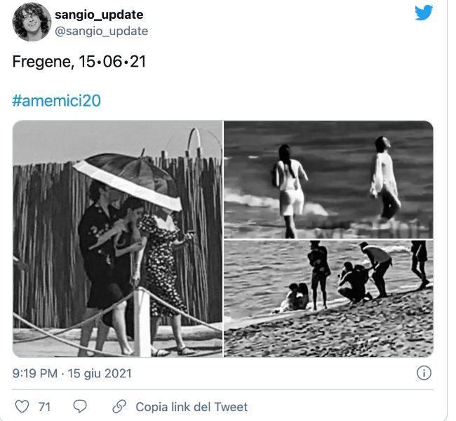 Amici: Sangiovanni e Giulia mandano in tilt per le foto insieme-Cosa succede