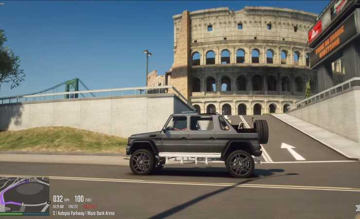 Colosseo GtaV mod (YouTube)