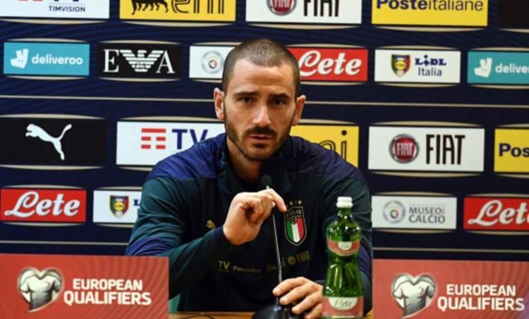 Bonucci in conferenza stampa