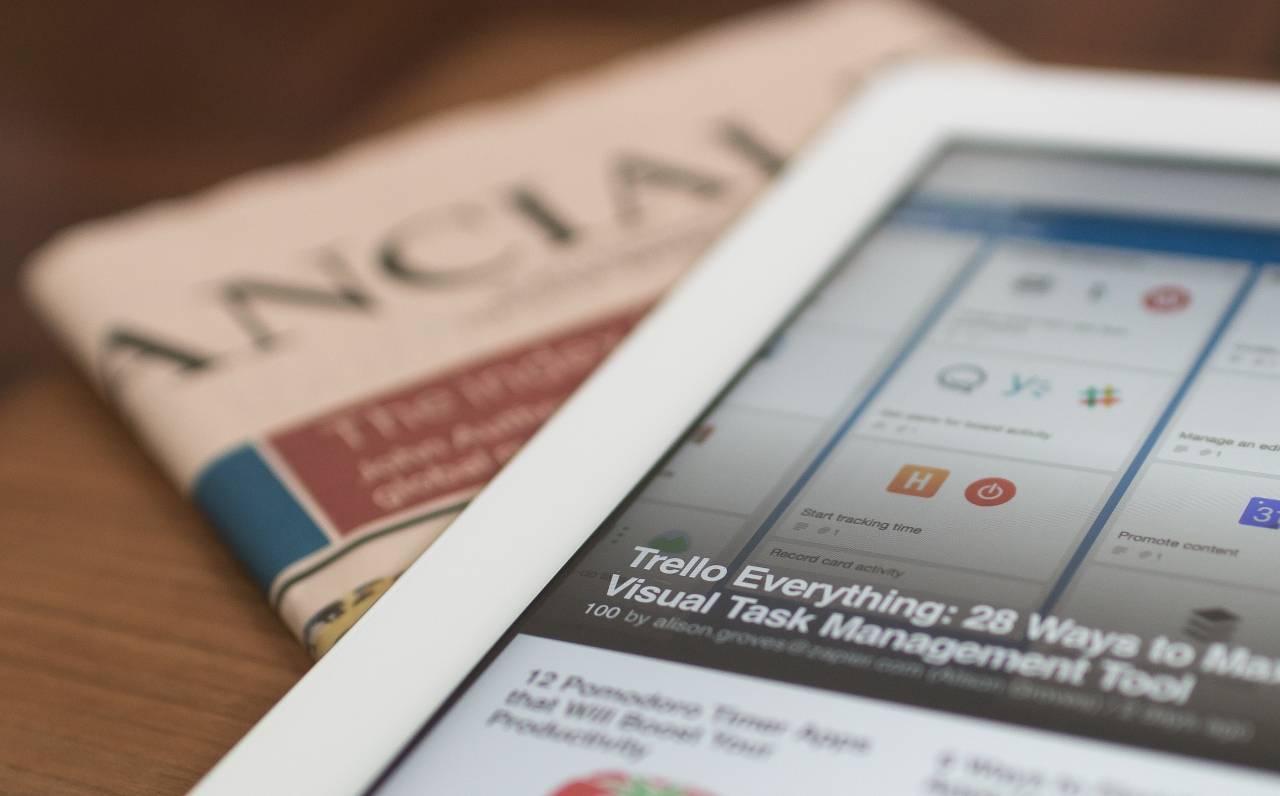 Newspaper Contenuti hot siti mainstream (Unsplush)