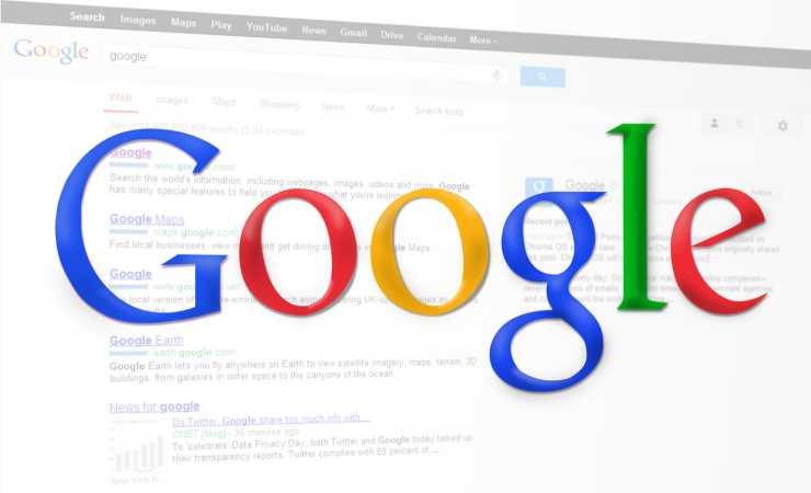Scritta Google segnalibiri chiude (Pixabay)