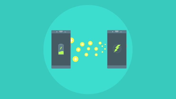 Telefoni ricarica inversa (pixabay)