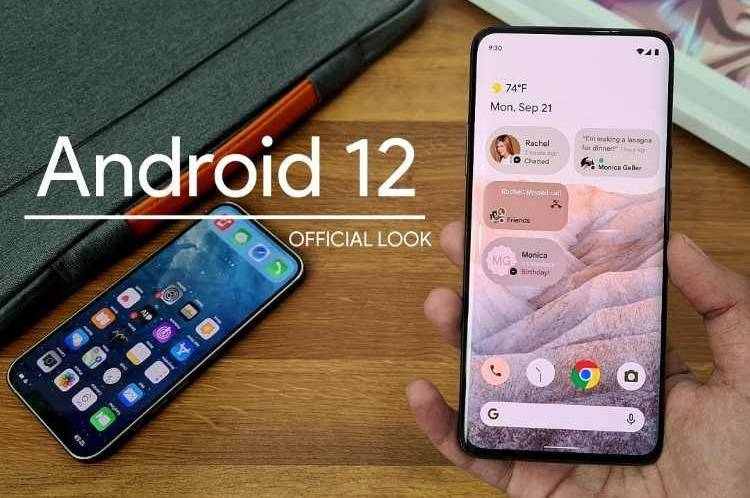 android 12 gaming